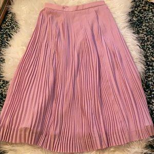 J.Crew micro pleated midi skirt || 000